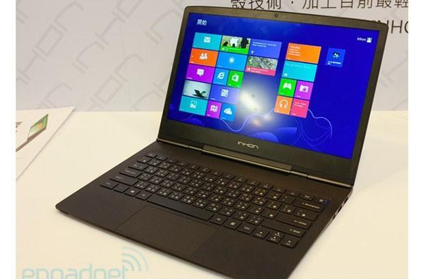 Ridiculously thin and light laptop unveiled in Taiwan: the 10.7mm, 1.9-pound Inhon Blade 13 Carbon