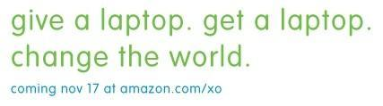 OLPC's Give One, Get One returns to Amazon on November 17