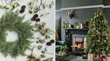 Fantasy forests and make-believe woodland scenes: the faux fir trend for Christmas 2017