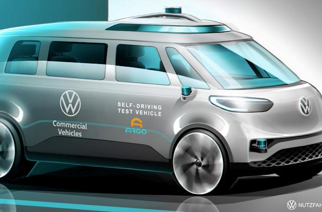 Volkswagen is using its electric ID.Buzz van to test self-driving tech