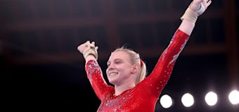 What Gymnast Jade Carey Told Her Mom After Qualifying for 2 Event Finals in Her Olympic Debut