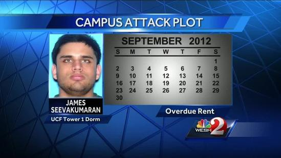 Botched attack plot prompts investigation at UCF