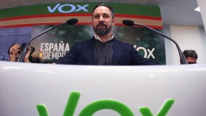 Abascal recalca que la gobernabilidad no es responsabilidad de Vox