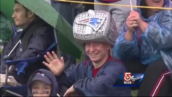 Patriots fans not shaken by off-season scandals