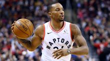 Raptors' Norman Powell leaves game against Pistons late with apparent shoulder injury
