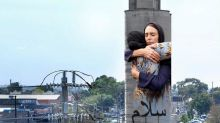 Iconic photo of Jacinda Ardern hugging woman after Christchurch massacre to be painted on Melbourne silo