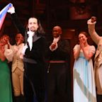 Lin-Manuel Miranda tweaks Hamilton rap to call out woman filming Puerto Rico show