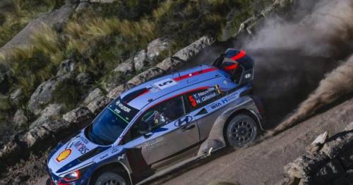 Rallye - WRC - Argentine - Thierry Neuville remporte le Rallye d'Argentine pour sept dixièmes