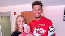 Watch Patrick Mahomes' Baby Daughter Sterling, 5 Months, Surprise Him with 'Good News'