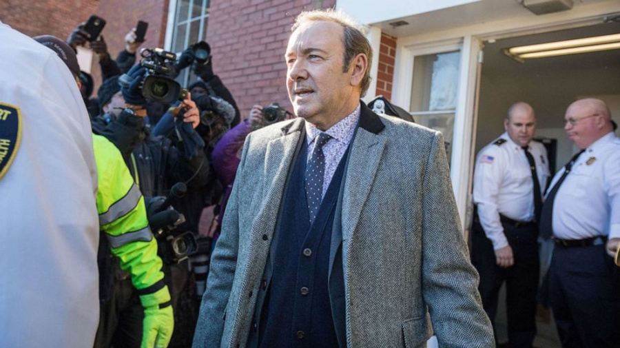 Sexual assault charge against Spacey dropped
