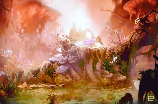 The beautiful 'Ori and the Will of the Wisp' comes to Xbox One