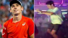 Video emerges of Alex de Minaur's hilarious nightclub dance moves