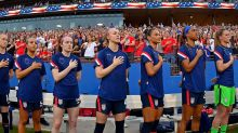 U.S. Women's Soccer Team Protests Gender Discrimination By Reversing Their Jerseys