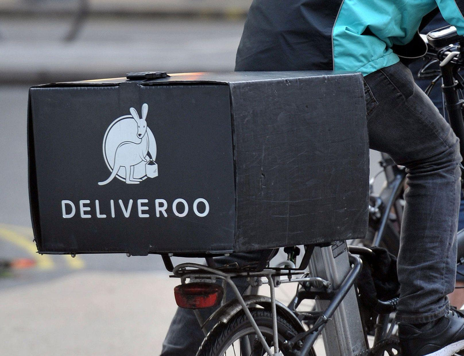 Amazon leads £450m investment in Deliveroo