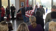 Hundreds of people attended the funeral of a military veteran who had no family: 'We're all brothers'