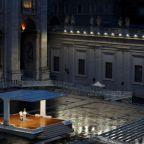 Pope faces coronavirus 'tempest' alone in St Peter's Square