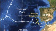 La corteza terrestre podría estar partiéndose en dos frente a las costas de Portugal