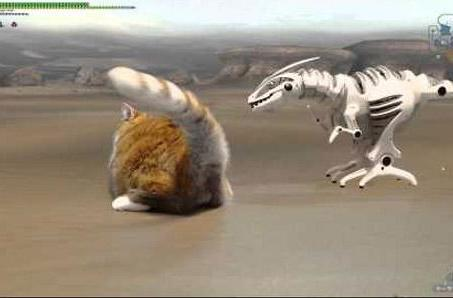 Monster Hunter's dinos are no match for real-world cats