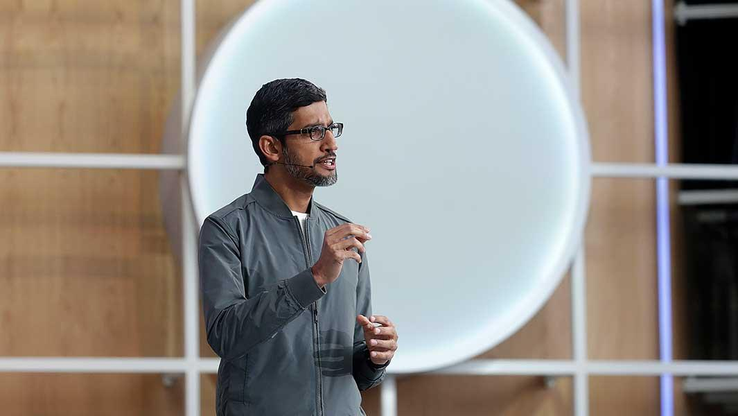 Google Chief: U.S. Needs Tech Giants For Artificial Intelligence