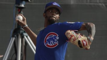 Cubs pitcher admits to throwing at batter