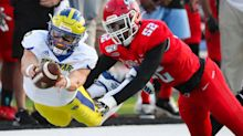 Delaware dominance continues in first football visit to Delaware State