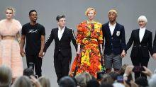 Cara Delevingne, Helen Mirren and Tilda Swinton pay tribute to Karl Lagerfeld at Paris memorial event