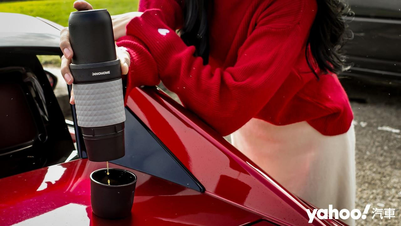 【開箱圖輯】路途再遙遠、再壅塞又如何?有iNNOHOME Duopresso隨行膠囊咖啡機暖心又提神!