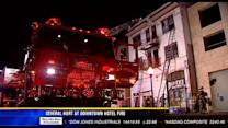 Several hurt at downtown hotel fire