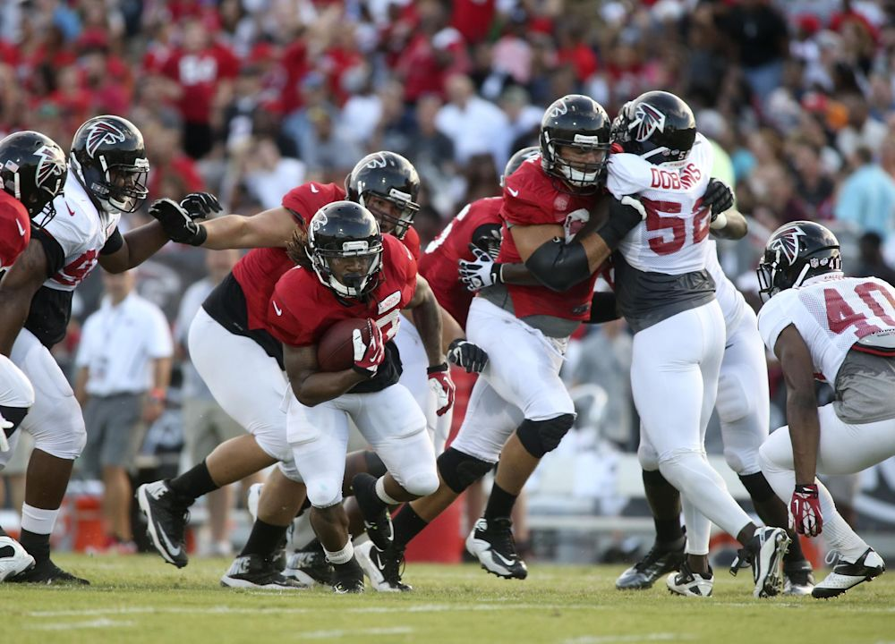 Jackson's backups prepping quickly for Falcons