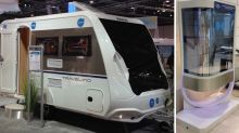 Lippert Components and Knaus Each Showcase SPD-SmartGlass Dimmable Recreational Vehicle Windows From Vision Systems at Caravan Salon 2017