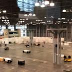 National Guard Prepares Javits Convention Center for New York City Patients