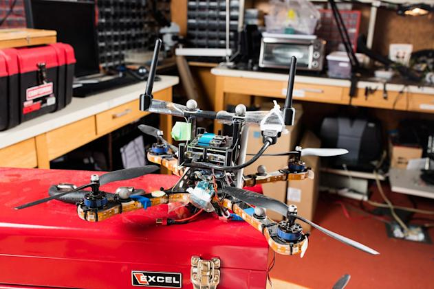 Position tracking protects drone herds against hackers
