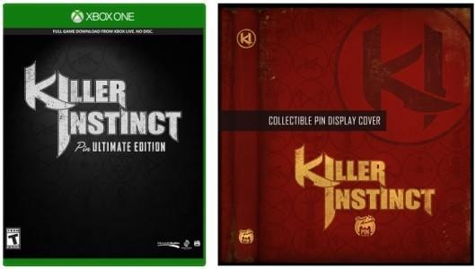 Limited Killer Instinct boxed version holds pins instead of a disc