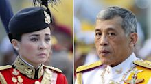 Thai king marries long-time bodyguard in surprise wedding before coronation