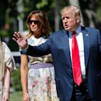 Donald and Melania Trump Retreat to Mar-a-Lago for Easter in the Wake of Mueller Report's Release