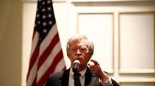 Bolton says U.S. will be aggressive, unwavering on Iran sanctions