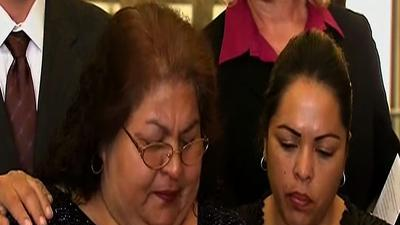 Mom condemns violence in wake of police shooting