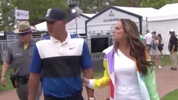 Golf - USPGA - Quand Brooks Koepka snobe sa petite amie à l'USPGA