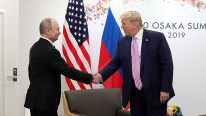 Russia is again boosting Trump: Intel officials