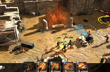 Crytek's free-to-play strategy game The Collectables assaults iOS