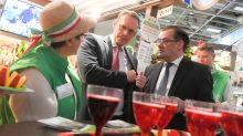 Messe Berlin: Zwischen Nougat und Currywurst: Müller eröffnet Grüne Woche
