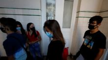 Relief and fear as Portuguese students go back to school