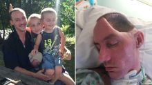 'Will never be the same': Dad's brain 'caves in' after bashing