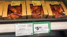 Innocent reason behind Woolworths worker's 'crude note' on chicken