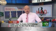 Cramer: Don't let sellers freak you out. The market's oft...