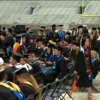 Notre Dame students walk out on Mike Pence during commencement speech