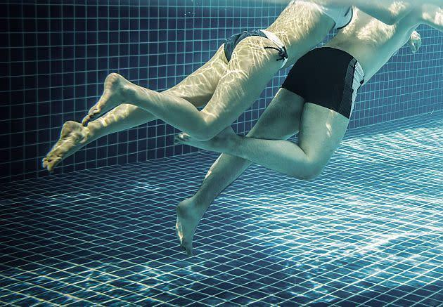 Sex im offentlichen schwimmbad