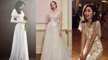 女星大愛的婚紗品牌:Vera Wang、Jenny Packham 2018新款嫁衣