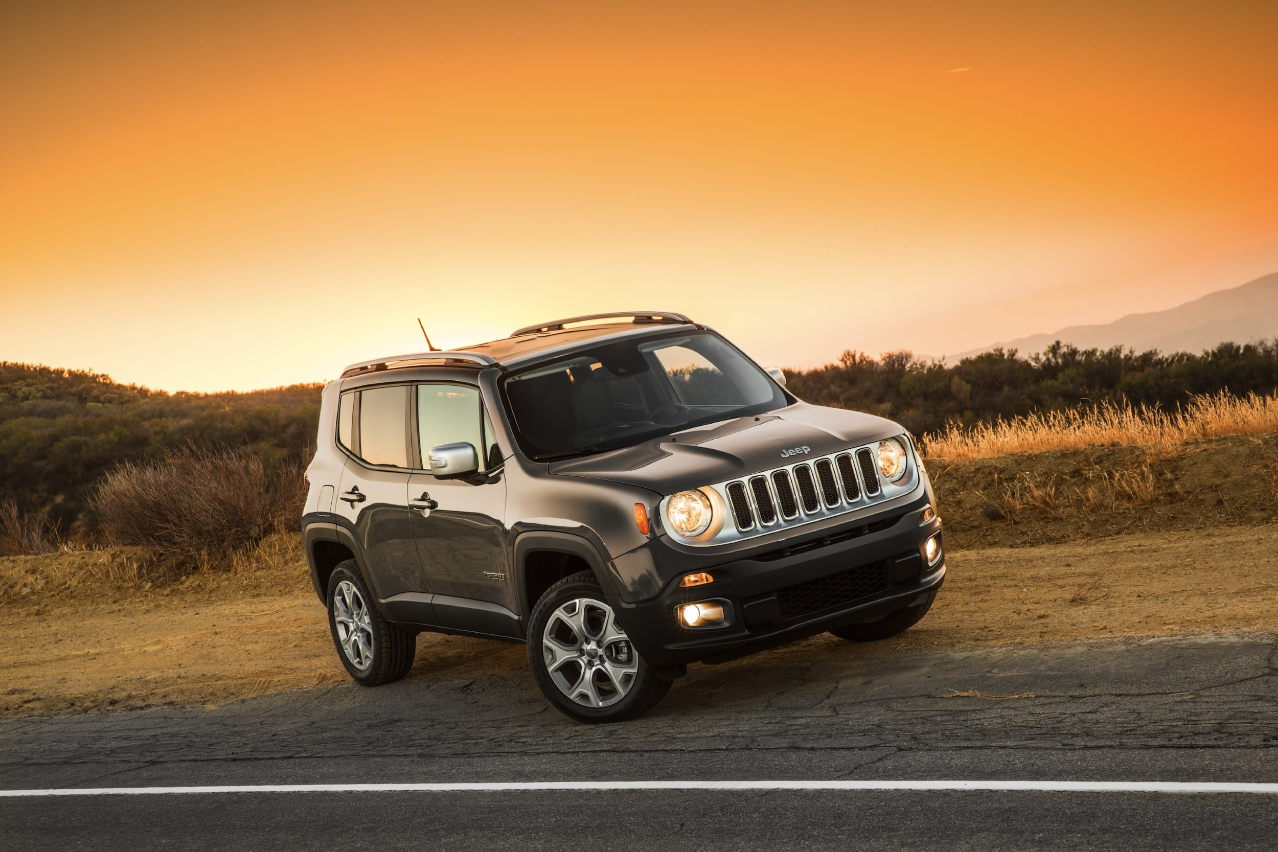The Jeep Renegade Is Made In Italy But It S Still An All