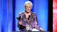 Glenn Close Brings Her Dog on Stage as She Wins Best Actress Independent Spirit Award Ahead of Oscars